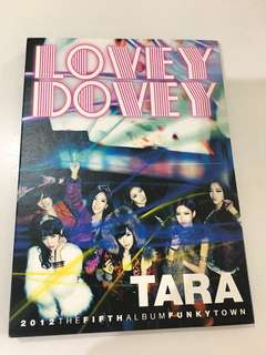 Tara 韓版專輯 lovey dovey day by day