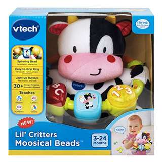 VTech Baby Lil' Critters Moosical Beads - (some slight box damage)