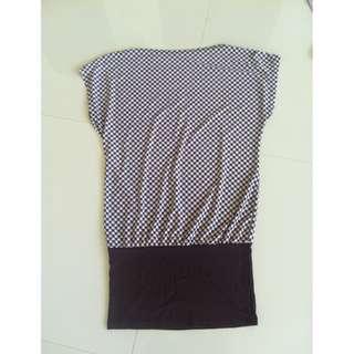Plaid Brown Dress
