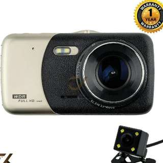 New!! Dual Lens Dashcom Full HD 4.0LED