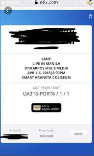 Lany Day 2 Ticket