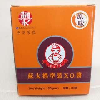 蘇太標準裝XO醬 190克 香港製造 (全新) 有效期至16-10-2019. 原價$128