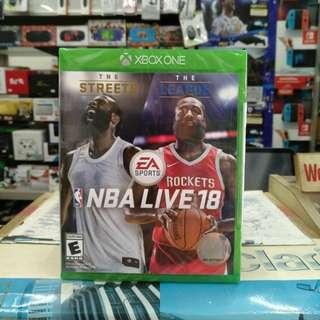 🆕 Xbox One NBA LIVE 18