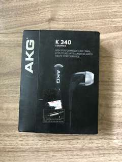 Headset AKG K340 new original bergaransi