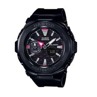 BGA-225G-1ADR BGA-225G-1A BGA-225G Brand New Casio Baby-G Quartz 200m World Time 100% Genuine Digital Analog Female Sports Watch w/ Warranty