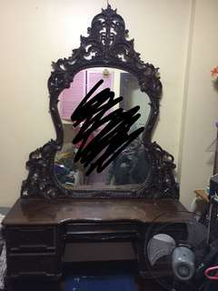 REPRICED! 10 ft. Classic Pure Narra Mirror Cabinet
