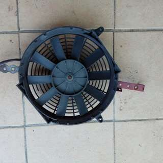 Car Air conditioning radiator fan with holder