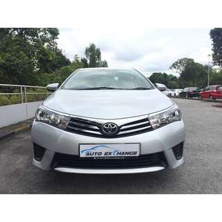 Toyota $425/Week for Most Popular Mint Toyota Altis 1.6A