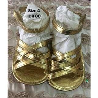 Sendal Tali Gold