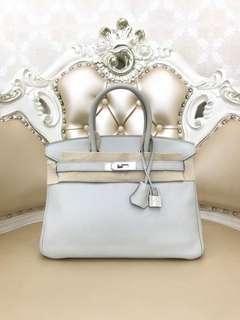 Hermes Birkin 30 珍珠灰🐚超氣質高雅的女神色