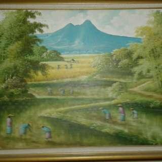Lukisan Gunung