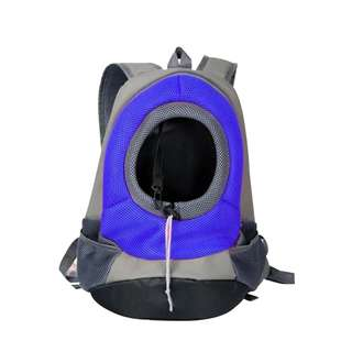 Pet Backpack Transportation for Dog and Cat (Blue)