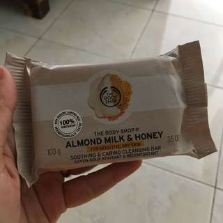 Almond Milk Honey Soap Bar by The Body Shop