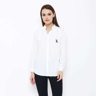 Kemeja putih # 422-2351 grosir only minimal 6 pcs