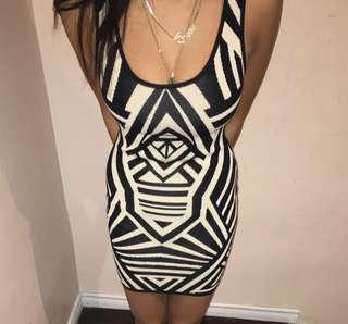 SHAPE ENHANCING DRESS