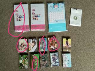 Unofficial Kpop Items (Ready Stock)