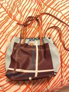 Tory Burch Kerrington Square tote/shoulder bag