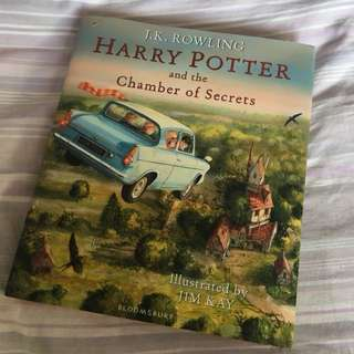 Harry Potter Chamber of Secrets Illustrated