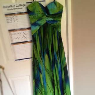 Green Ball Gown Size 6