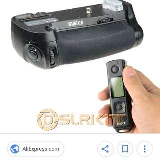 Meike MK-DR750 Built-in 2.4G Wireless Remote Control Vertical Battery Grip Holder for Nikon D750