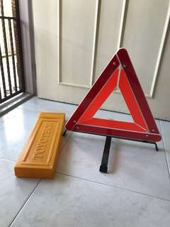 Car Emergency Triangle Stop Plate