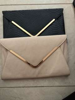 2 clutches for $40
