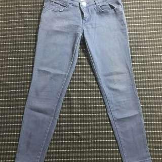 Light Blue maong skinny jeans