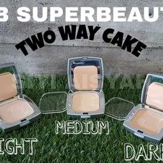 INSTOCK SB SUPERBEAUTY DIAMOND TWO WAY CAKE / COMPACT POWDER
