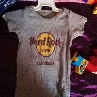 Hard Rock Tshirt romper