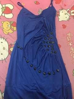 Mini dress pesta