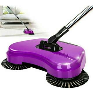 Wonder sweeper spin broom and dusk pan all in one