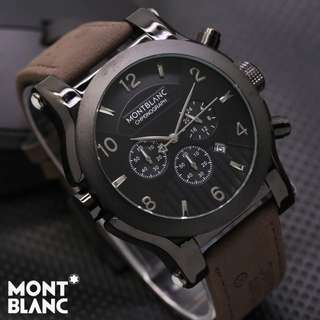 MONTBLANC M-005 CHRONO LEATHER