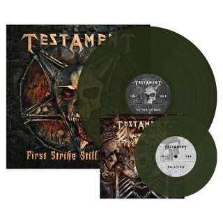 "Testament - First Strike Still Deadly Limited Edition (Swamp Green) Vinyl LP + 7"" Vinyl"