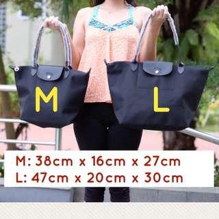 Longchamp Planetes Grade Ori LONGHANDLE size M