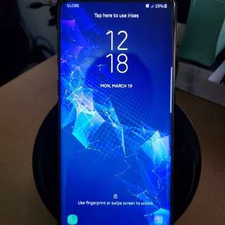 Samsung S8+ midnight black 64gb (3months old)