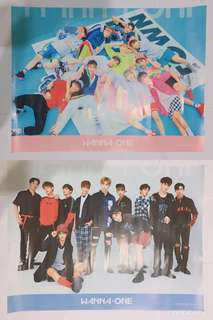 Wanna One 官方poster (pink ver + sky ver)