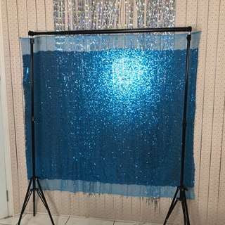 Backdrop Stand (FREE Backdrop Sequin)