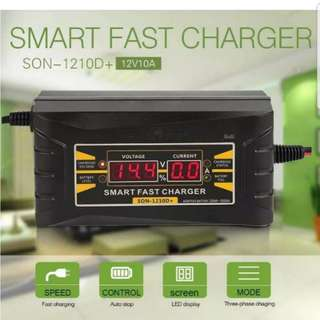 Car/motorcycle battery charger