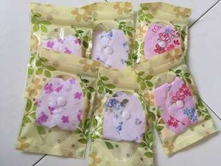 185mm reusable sanitary pads pure cotton