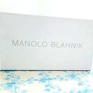 ●MANOLO BLAHNIK○ [MB] shoe box size 31x18x10cm