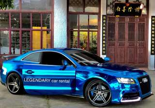 Legendary car rental Audi A5