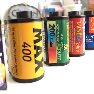 Empty Film Canister