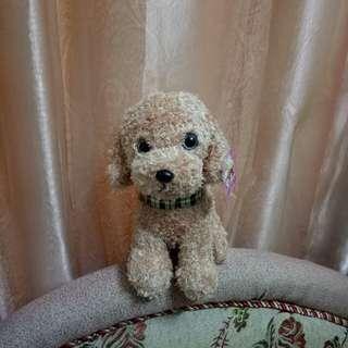 超可愛貴賓狗娃娃 栩栩如生奶油貴賓狗狗送禮擺飾超吸睛