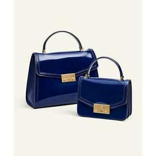 Ready authentic ori TORYBURCH juliette top handle satchel