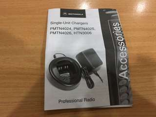 Brand new Walkie Talkie charger