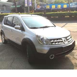 正2009年Nissan Livina亮麗銀 省油省稅國民代步車 實車實價只要16.8萬 一手車 非自售