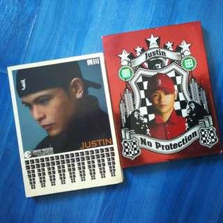 Justin 侧田 Albums x 4