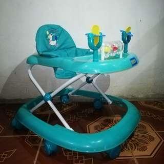 Bluegreen Baby Walker