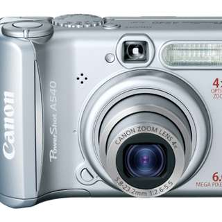 Pre-loved Canon Powershot A540