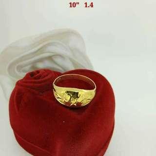 SAUDI GOLD RING 750